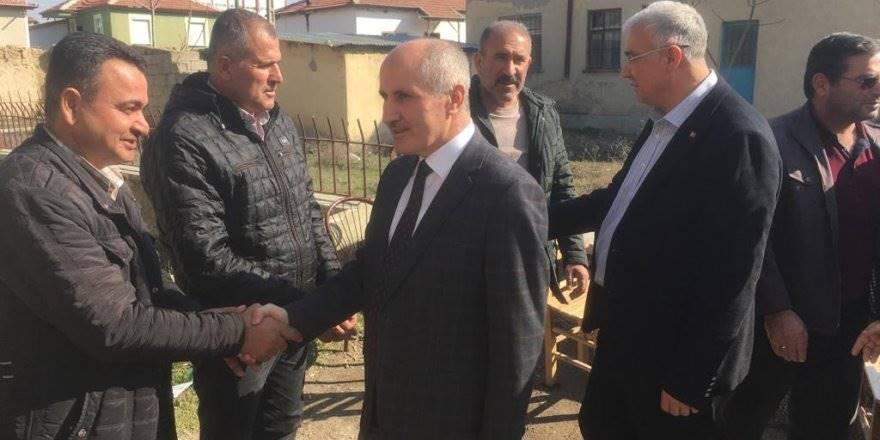 Vali Meral'den Ekinözü Köyü ile Akçaşehir Kasabasına Ziyaret