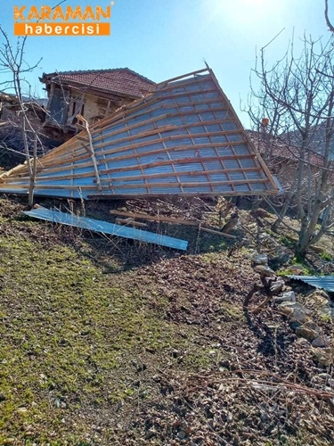 Kalaba Köyünde Şiddetli Rüzgar 4
