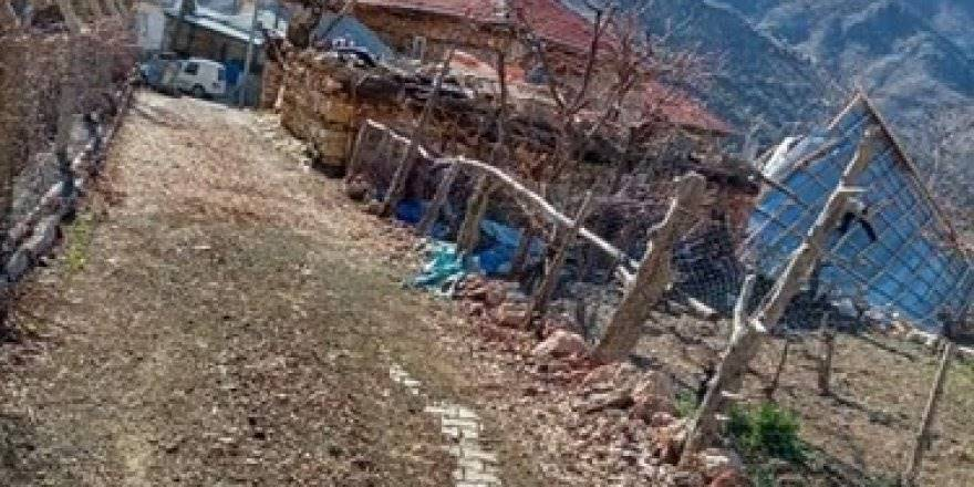Kalaba Köyünde Şiddetli Rüzgar