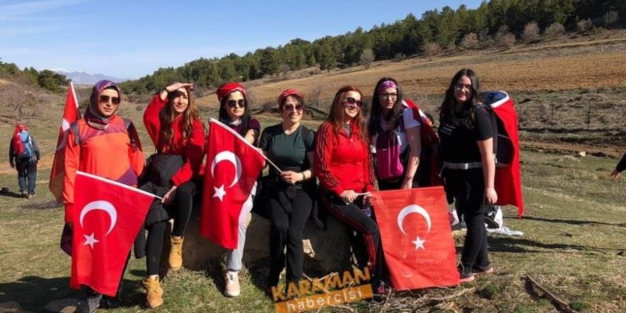 Kardof Kadınlar Gününü de Şehitlerimizi de Unutmadı