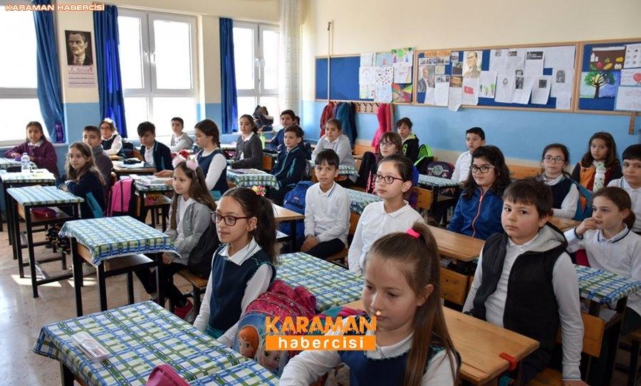 Karaman'da Gaziler Öğrencilere Vatan Savunmasını Anlatıyor 11