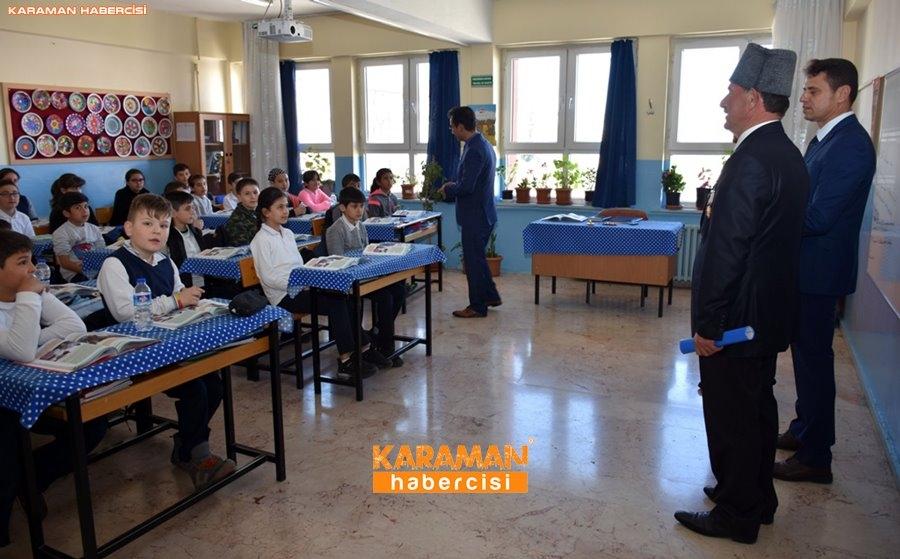 Karaman'da Gaziler Öğrencilere Vatan Savunmasını Anlatıyor 14
