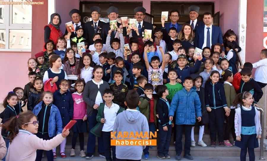 Karaman'da Gaziler Öğrencilere Vatan Savunmasını Anlatıyor 19