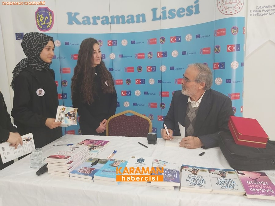 Ali Erkan Kavaklı Karaman'da Öğrenciler İle Buluştu 1