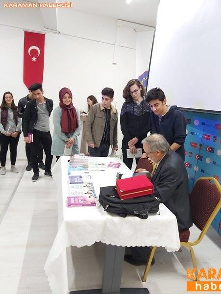 Ali Erkan Kavaklı Karaman'da Öğrenciler İle Buluştu 3