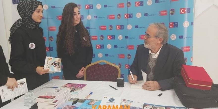 Ali Erkan Kavaklı Karaman'da Öğrenciler İle Buluştu