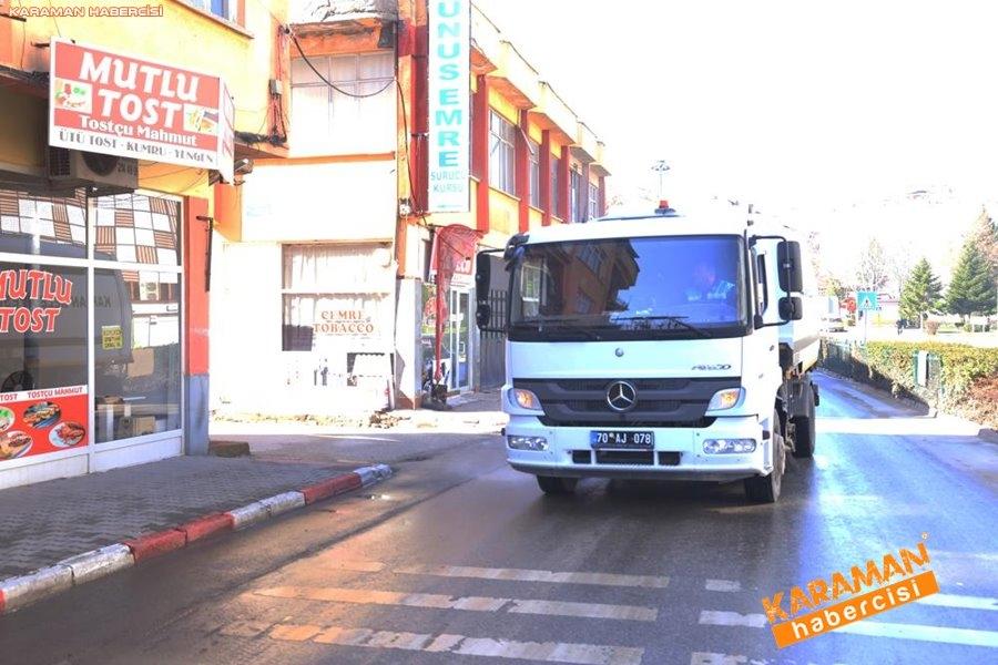 Karaman Belediyesi Yol ve Parklarda Çalışıyor 19