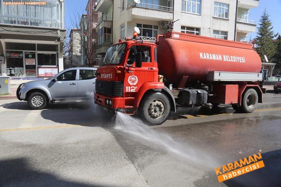 Karaman Belediyesi Yol ve Parklarda Çalışıyor 2