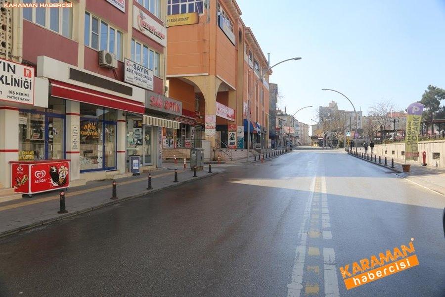 Karaman Belediyesi Yol ve Parklarda Çalışıyor 3