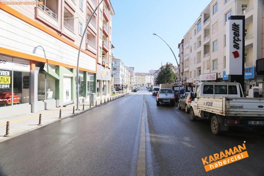 Karaman Belediyesi Yol ve Parklarda Çalışıyor 4