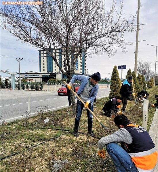 Karaman'da Çevre Düzenlemeleri ve Korona Virüs Temizliği 12