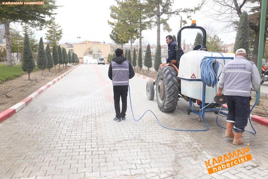 Karaman'da Çevre Düzenlemeleri ve Korona Virüs Temizliği 17