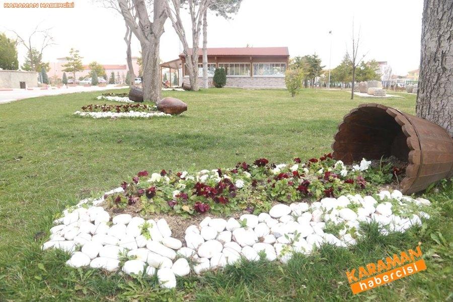 Karaman'da Çevre Düzenlemeleri ve Korona Virüs Temizliği 18