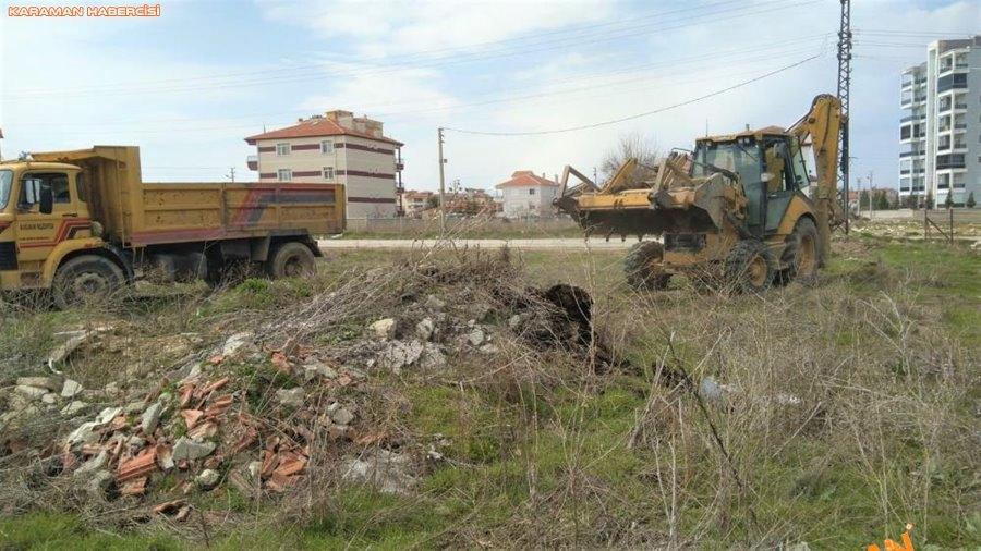Karaman'da Çevre Düzenlemeleri ve Korona Virüs Temizliği 3