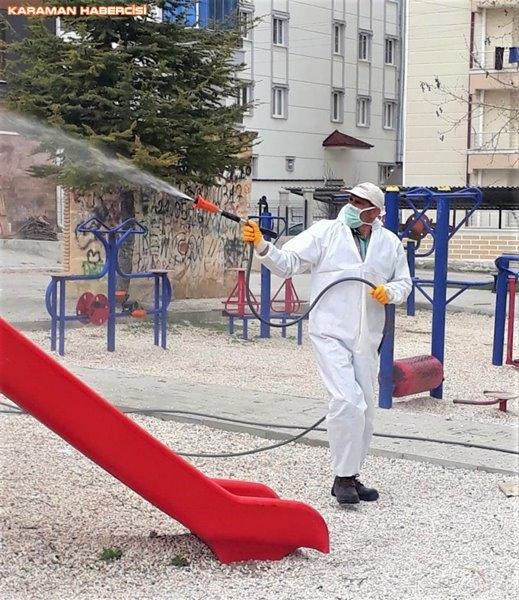 Karaman'da Çevre Düzenlemeleri ve Korona Virüs Temizliği 8