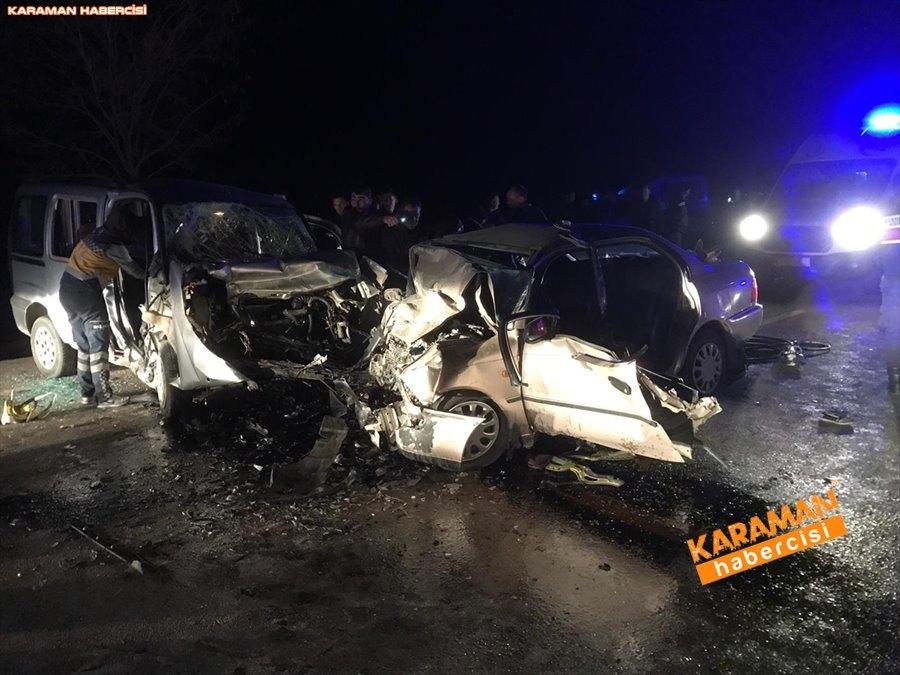 Güneysınır Yolunda Feci Kazada 4 Kişi Hayatını Kaybetti 1