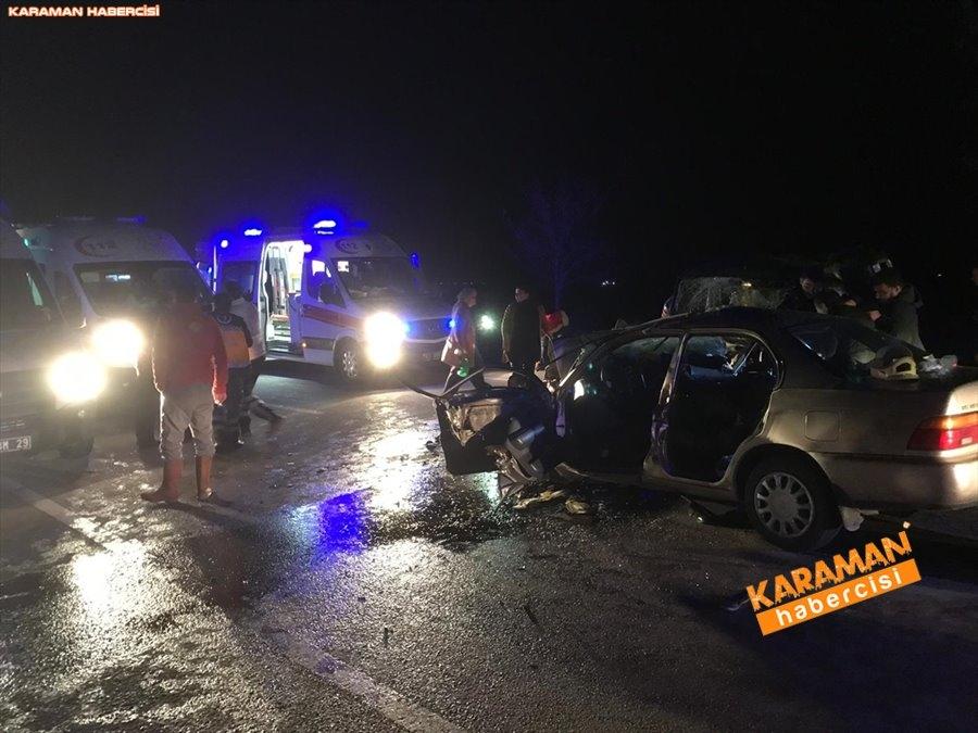 Güneysınır Yolunda Feci Kazada 4 Kişi Hayatını Kaybetti 2