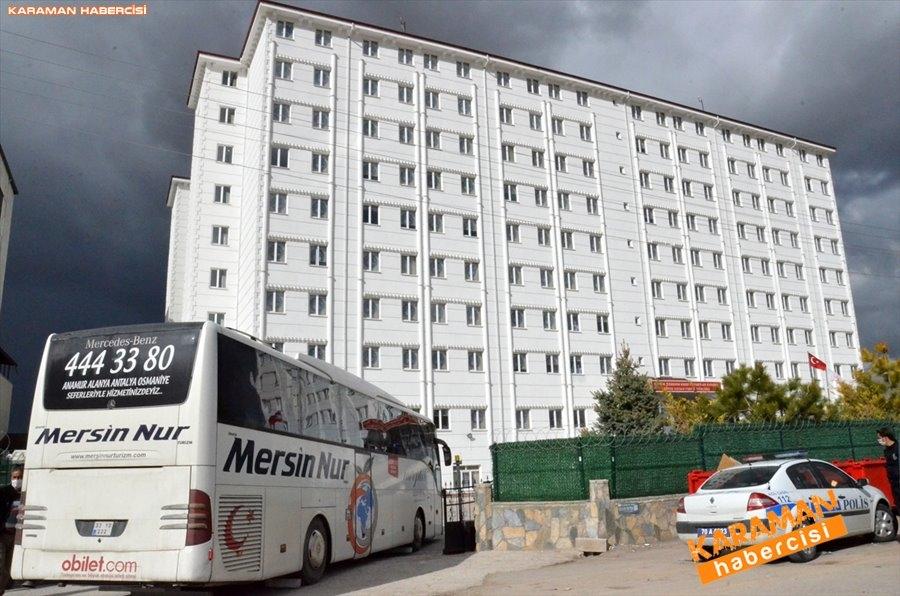 KKTC'den gelen 141 kişi, Karaman'da karantinaya alındı 10