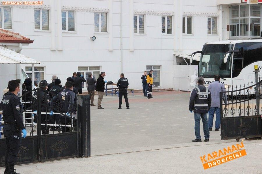KKTC'den gelen 141 kişi, Karaman'da karantinaya alındı 18