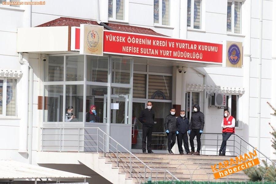 KKTC'den gelen 141 kişi, Karaman'da karantinaya alındı 21