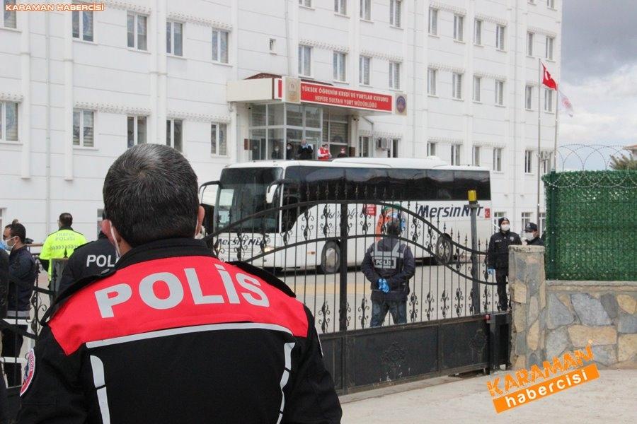 KKTC'den gelen 141 kişi, Karaman'da karantinaya alındı 24