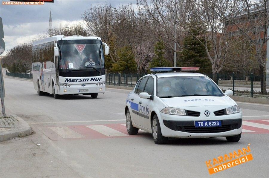 KKTC'den gelen 141 kişi, Karaman'da karantinaya alındı 3