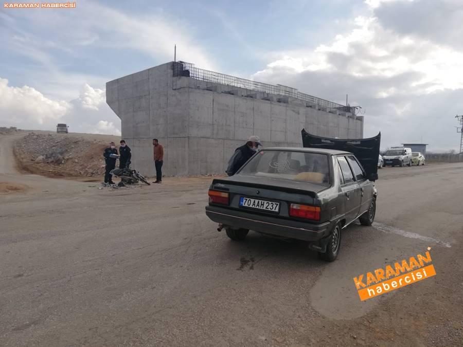 Karaman'da Trafik Kazası 6
