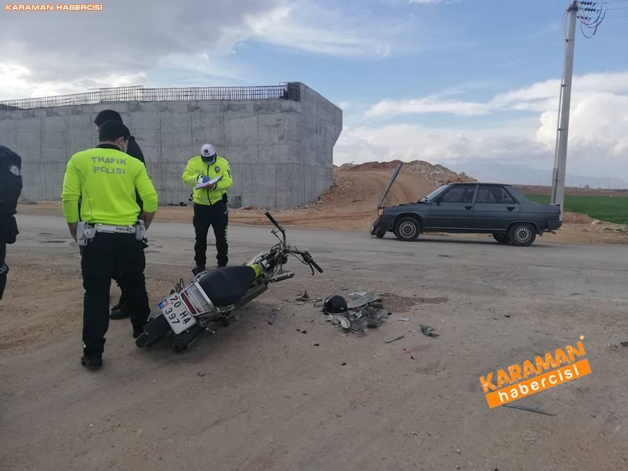 Karaman'da Trafik Kazası 7
