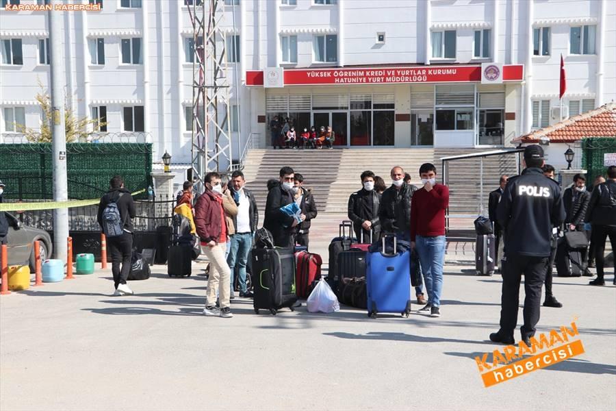 Karaman'da Karantina Süreleri Sona Erdi 3