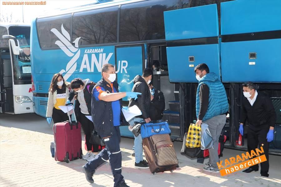 Karaman'da Karantina Süreleri Sona Erdi 7