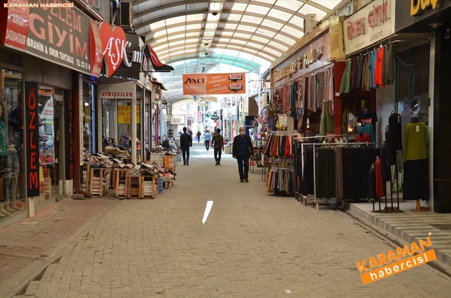 Karaman'da Vatandaşlar Sokaktan Ne Kadar Uzak Durabiliyor 1