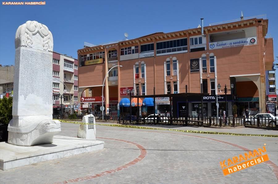 Karaman'da Vatandaşlar Sokaktan Ne Kadar Uzak Durabiliyor 11