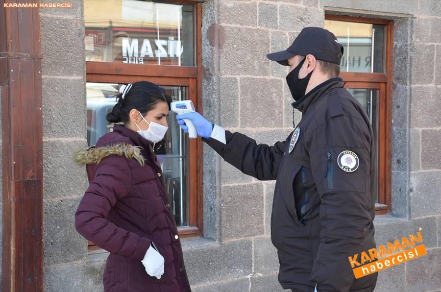 Karaman'da Vatandaşlar Sokaktan Ne Kadar Uzak Durabiliyor 3