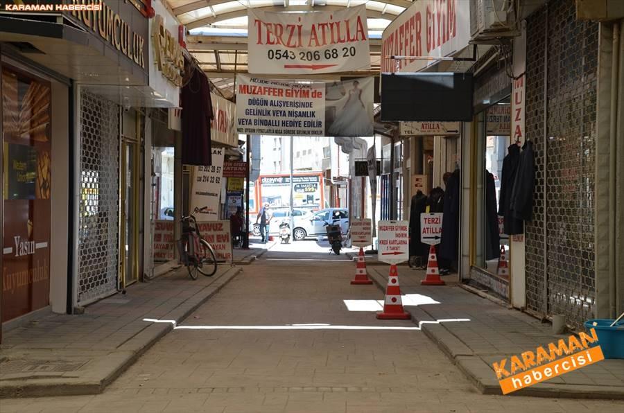 Karaman'da Vatandaşlar Sokaktan Ne Kadar Uzak Durabiliyor 6