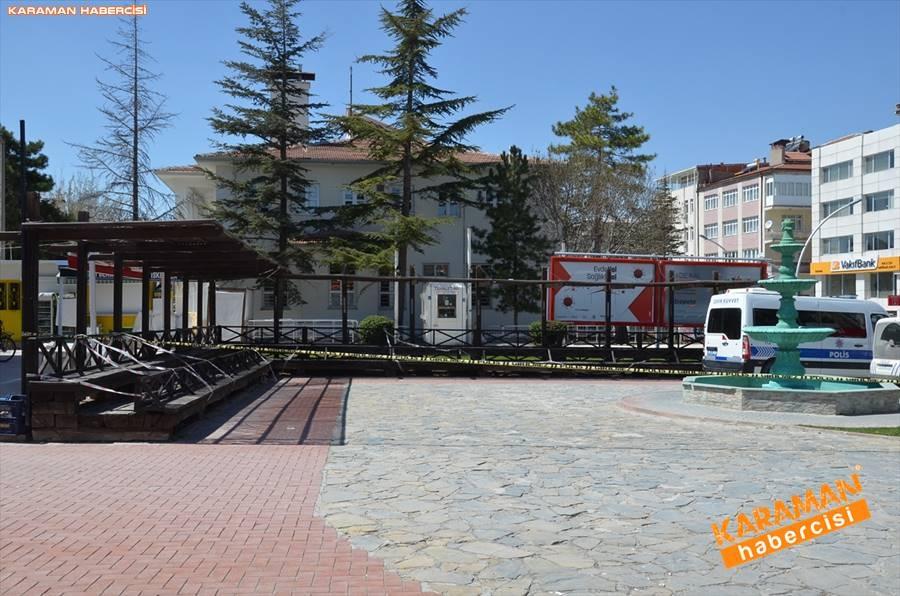 Karaman'da Vatandaşlar Sokaktan Ne Kadar Uzak Durabiliyor 7