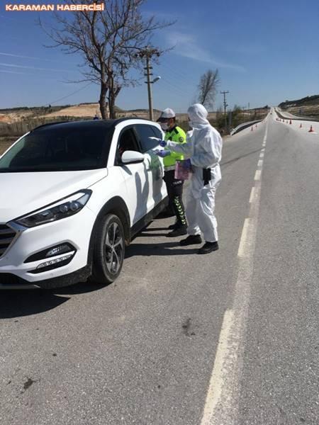 Karaman'da Maske Dağıtımı 3