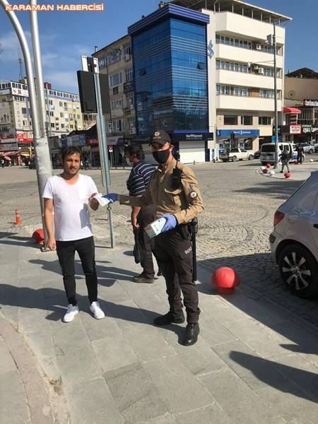 Karaman'da Maske Dağıtımı 9
