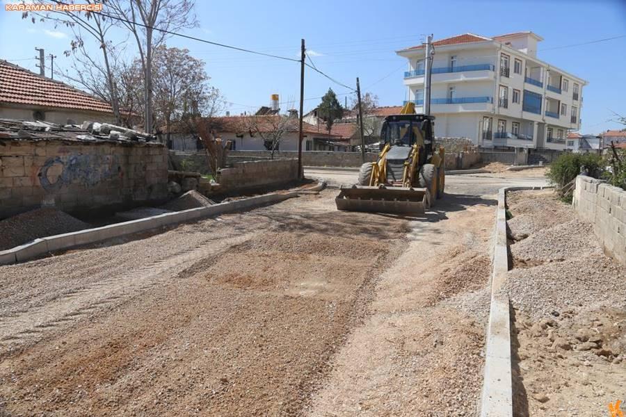 Karaman'da Yol ve Çevre Düzenlemesi Çalışmaları 2