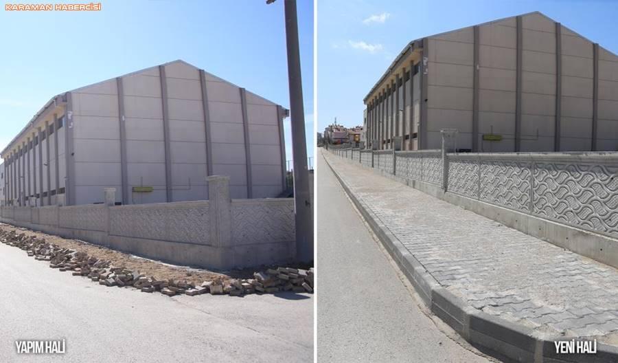 Karaman'da Yol ve Çevre Düzenlemesi Çalışmaları 5