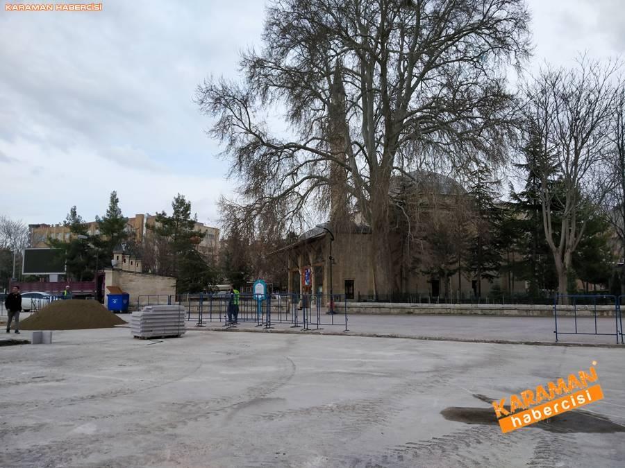 Karaman'da Meydan ve Yollarda Yenileme Çalışmaları 2