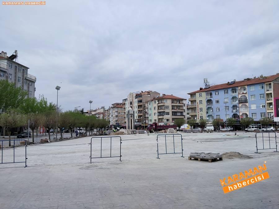 Karaman'da Meydan ve Yollarda Yenileme Çalışmaları 3