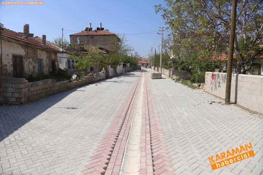 Karaman'da Meydan ve Yollarda Yenileme Çalışmaları 6