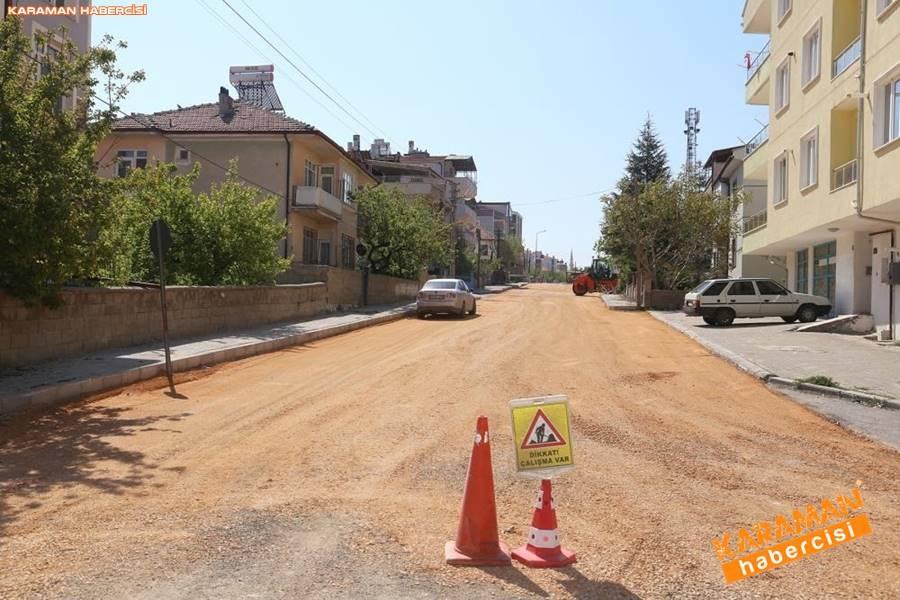Karaman'da Meydan ve Yollarda Yenileme Çalışmaları 8