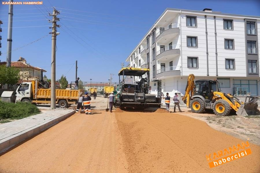 Karaman'da Meydan ve Yollarda Yenileme Çalışmaları 9