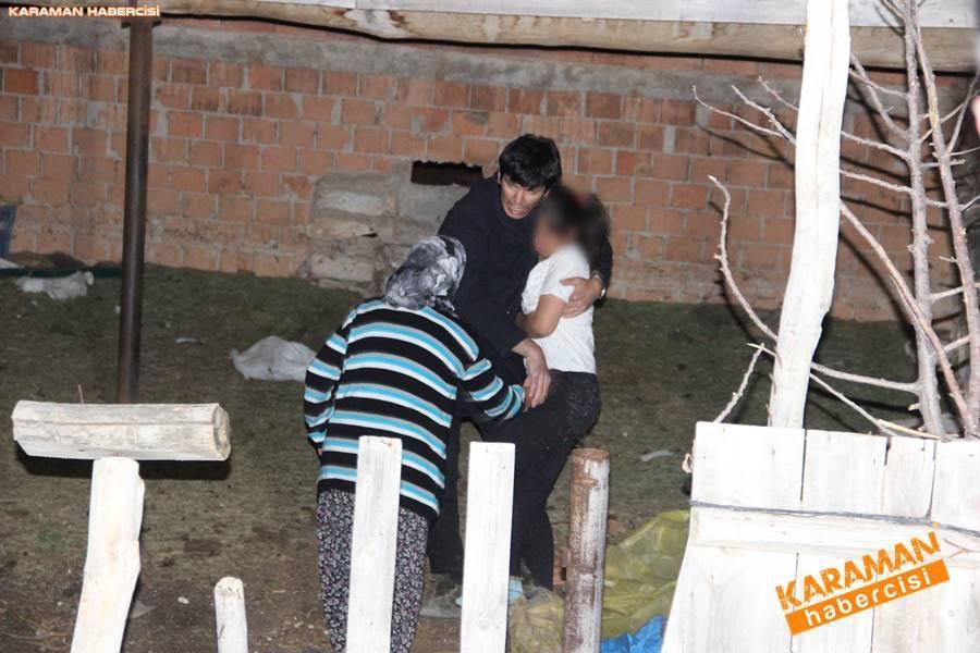 Karaman'da Kayıp Kız Bulundu 2
