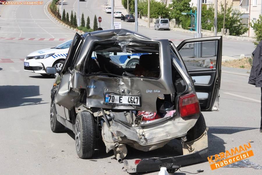 Karaman'da Trafik Kazası 5