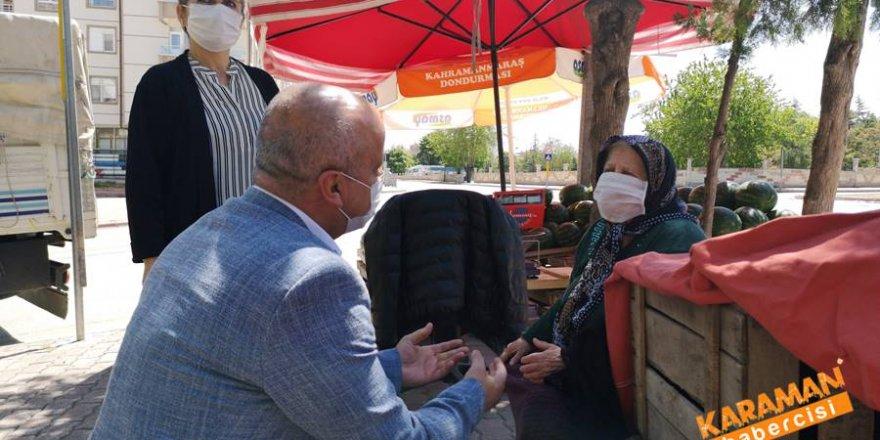 CHP Karaman İl Teşkilatı Anneler Gününü Kutladı