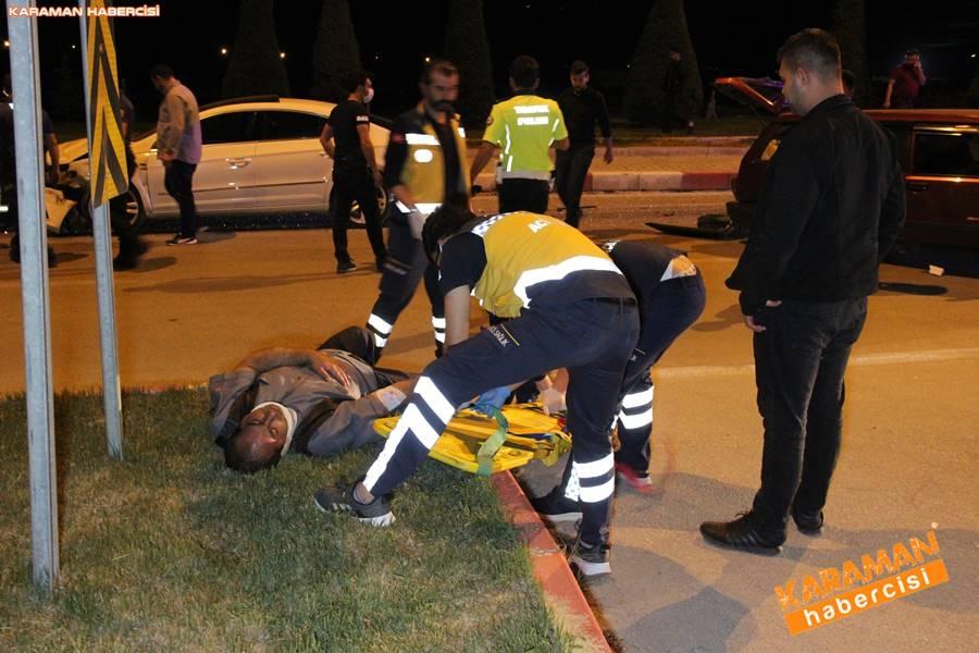 Karaman'da Trafik Kazası 8