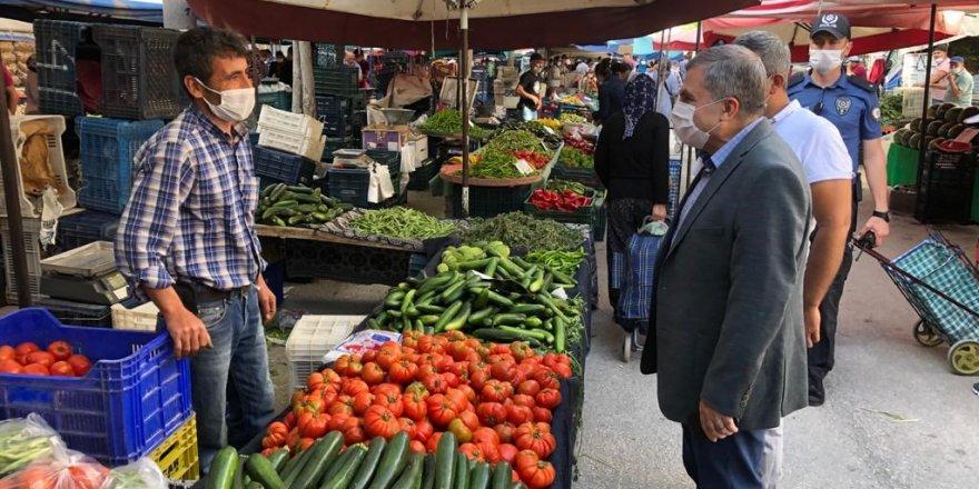 Karaman'ın Yeni Valisi Cumartesi Pazarında
