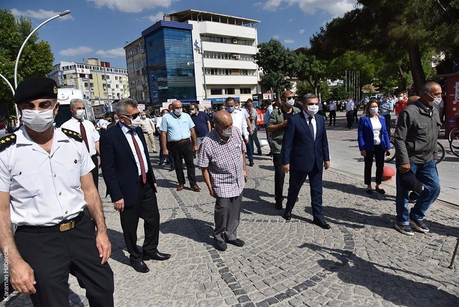 Karaman'da Pandemi Farkındalık Yürüyüşü 3